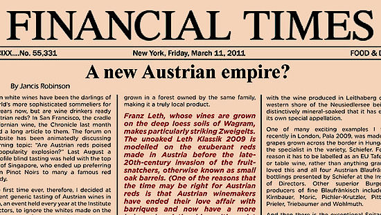 Header Financial Times, © AWMB / Financial Times