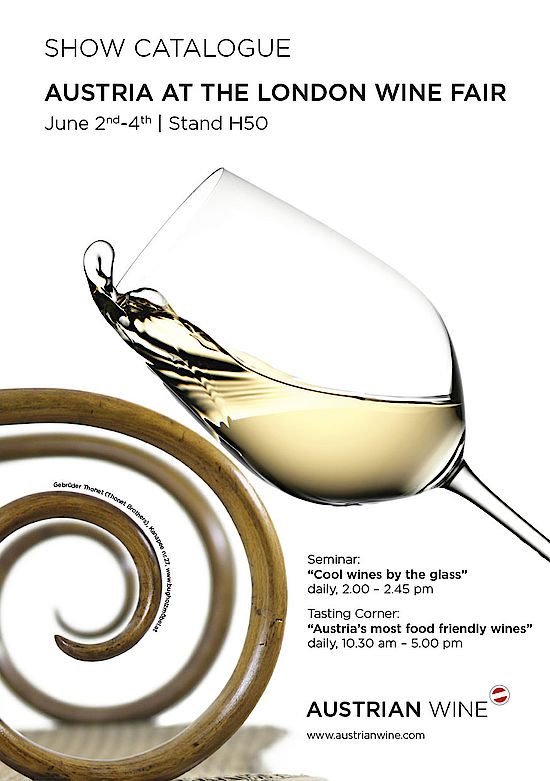 Cover, London Wine Fair - show catalogue