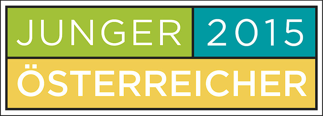 A picture shows the Junger Österreicher Logo 2015