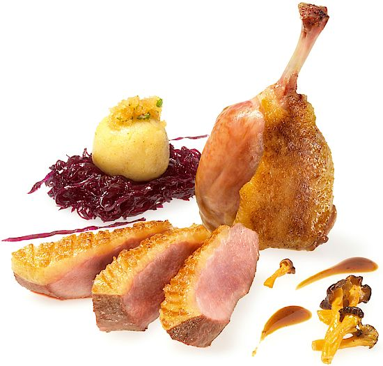 A picture shows Roast Duck