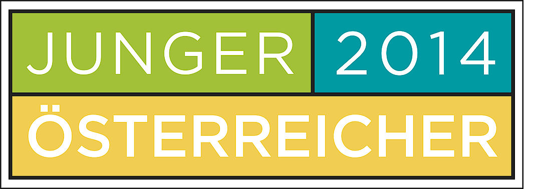 A picture shows the Junger Österreicher logo 2014