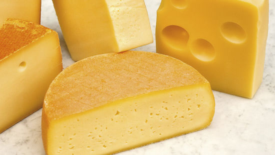A picture shows cheese