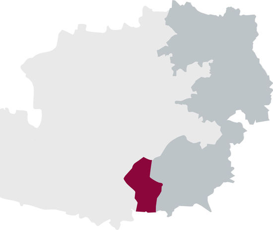 The picture shows the DAC region Weststeiermark