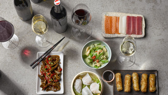 Asian Cuisine and Wine