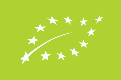A picture shows the EU Organic Agriculture Logo